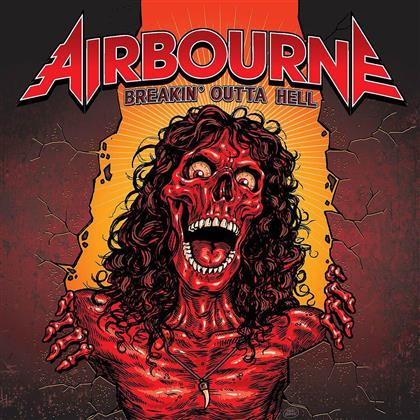 Airbourne - Breakin'outta Hell - Picture Disc (Colored, LP)
