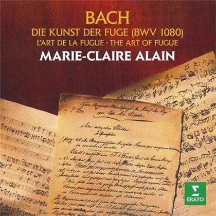 Johann Sebastian Bach (1685-1750) & Marie-Claire Alain - Die Kunst Der Fuge (2 CDs)