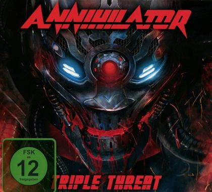 Annihilator - Triple Threat (Limited Deluxe Edition, 2 CDs + Blu-ray)