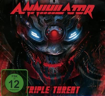 Annihilator - Triple Threat (Deluxe Edition, 2 CDs + DVD)