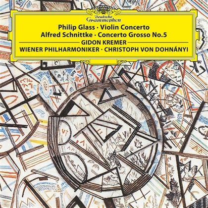 Philip Glass (*1937), Alfred Schnittke (1934-1998), Christoph von Dohnanyi, Gidon Kremer & Wiener Philharmoniker - Violin Concerto, Concerto Grosso No. 5 (LP + Digital Copy)