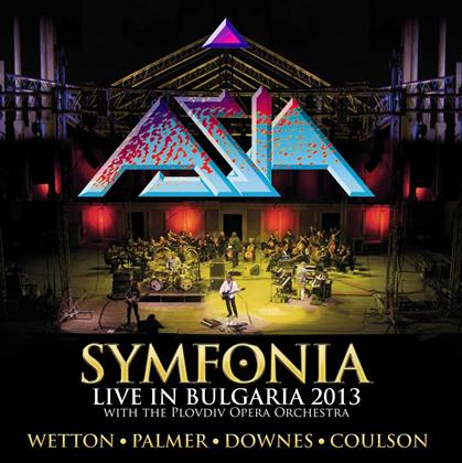 Asia - Symfonia - Live In Bulgaria - Limited Gatefold - Blue/Yellow Transparent Vinyl (Colored, 2 LPs)