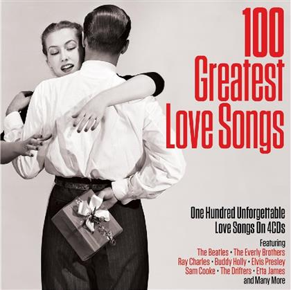 100 Greatest Love Songs - Various - Not Now Records (4 CDs)