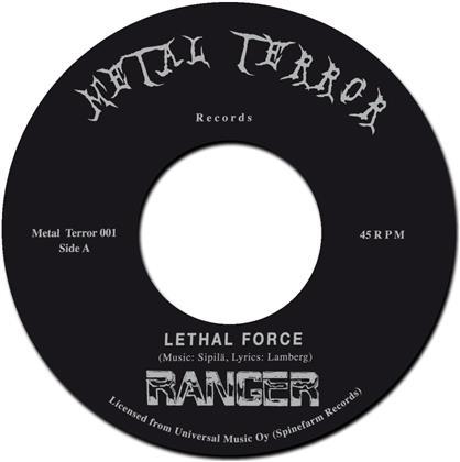 "Ranger - Lethal Force / Night Slasher - 7 Inch (7"" Single)"