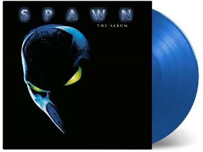 Spawn - The Album - OST - Music On Vinyl - Limited Transparent Blue Vinyl (Colored, 2 LPs)