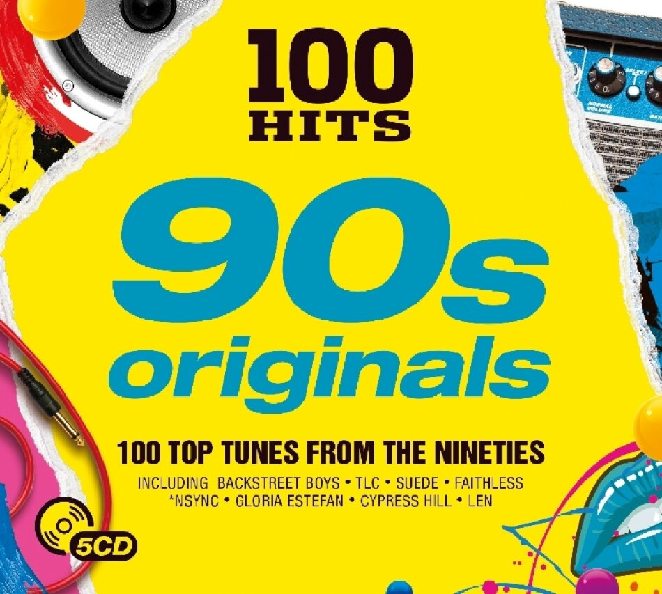 100 Hits - 90s Originals (5 CDs)