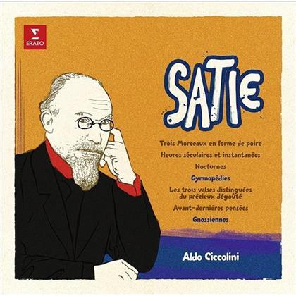 Aldo Ciccolini & Eric Satie (1866-1925) - Gymnopedies & Gnossiennes (LP)