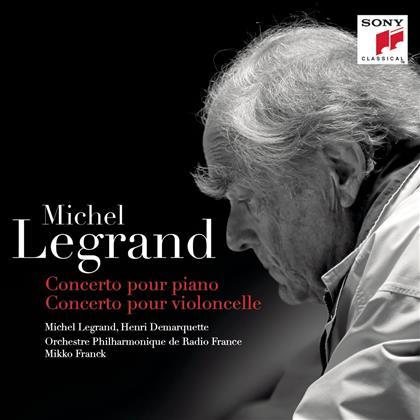 Legrand Michel Jean (*1932), Mikko Franck, Henri Demarquette, Michel Legrand & Orchestre Philharmonique de Radio France - Concerto pour Piano, Concerto pour Violoncelle (2 LPs)