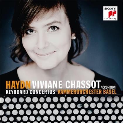 Kammerorchester Basel, Joseph Haydn (1732-1809) & Viviane Chassot - Keyboard Concertos (Version For Accordion)