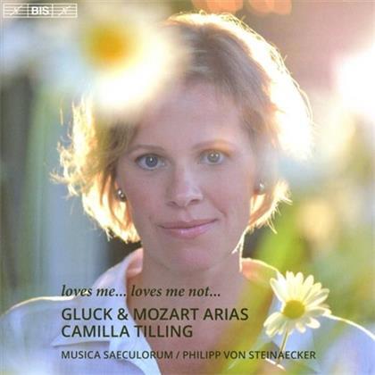 Camilla Tilling, Musica Saeculorum, Christoph Willibald Gluck (1714-1787) & Wolfgang Amadeus Mozart (1756-1791) - Gluck & Mozart Arias (SACD)