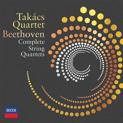 Takacs Quartet & Ludwig van Beethoven (1770-1827) - Complete String Quartets (9 DVDs)