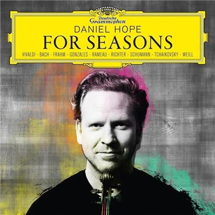 Daniel Hope, Konzerthaus Kammerorchester Berlin, Johann Sebastian Bach (1685-1750), Nils Frahm, Gonzales, … - For Seasons
