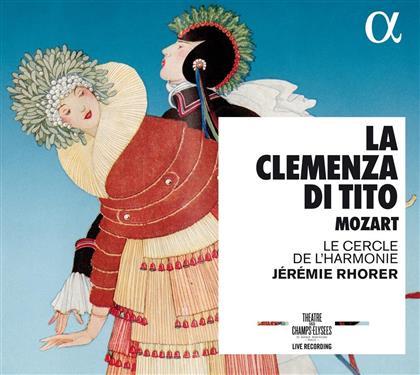 Wolfgang Amadeus Mozart (1756-1791), Jérémie Rhorer & Le Cercle de L'Harmonie - La Clemenza Di Tito (2 CDs)