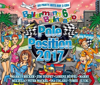 Ballermann 6 Balneario - Präsentiert Die Pole Position 2017 (3 CDs)