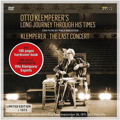Otto Klemperer - Long Journey Through His Times - Klemperer The Last Concert - Two Films By Philo Bregstein (3 CDs + DVD)