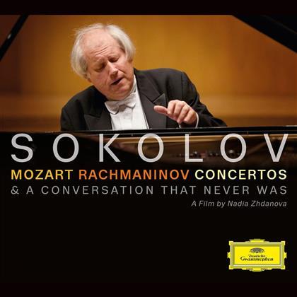 Grigory Sokolov, Wolfgang Amadeus Mozart (1756-1791), Sergej Rachmaninoff (1873-1943), Trevor Pinnock, Yan Pascal Tortelier, … - Concertos / A Conversation That Never Was (CD + DVD)