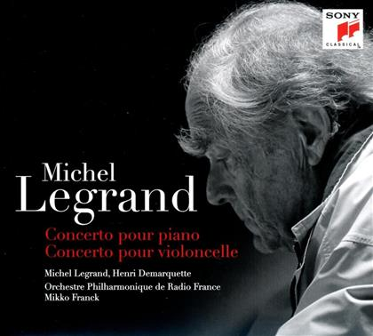 Legrand Michel Jean (*1932), Mikko Franck, Henri Demarquette, Michel Legrand & Orchestre Philharmonique de Radio France - Concerto pour Piano / Concerto Pour Cello (Limited Digipack)