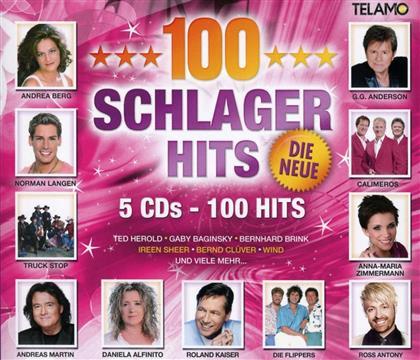 100 Schlager Hits - Various - Die Neue (5 CDs)