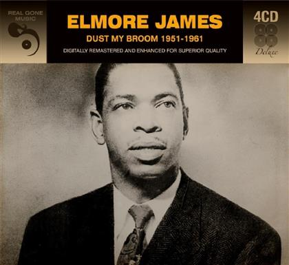 Elmore James - Dust My Broom 1951 - 1961 (Deluxe Edition, 4 CDs)