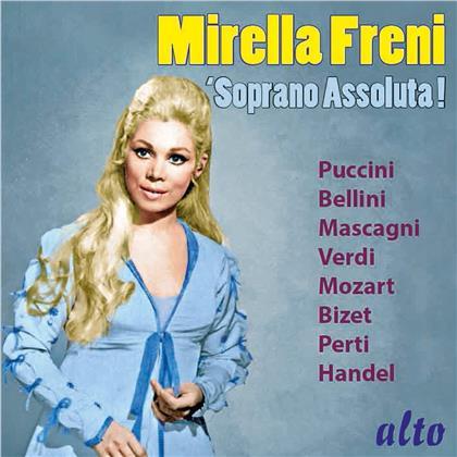 Pietro Mascagni (1863-1945), Georges Bizet (1838-1875), Perti, Georg Friedrich Händel (1685-1759), Giacomo Puccini (1858-1924), … - Soprano Assoluta!
