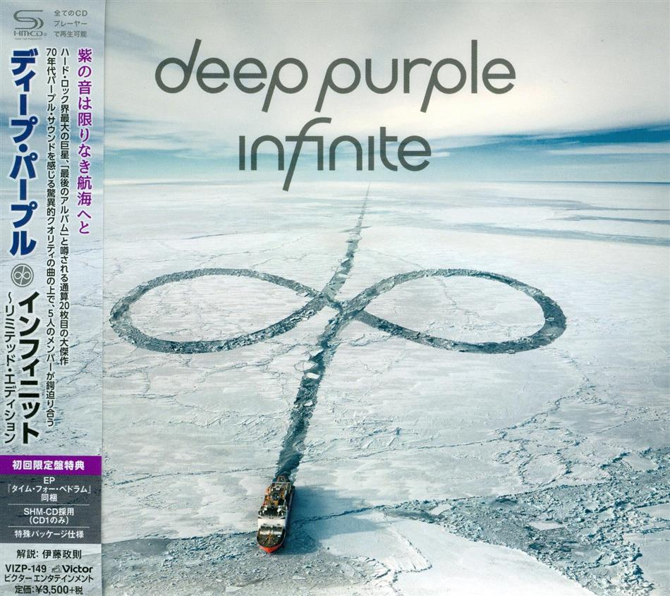 "Deep Purple - Infinite - Limited Edition, Contains EP ""Time For Bedlam"" (Japan Edition, 2 CDs)"