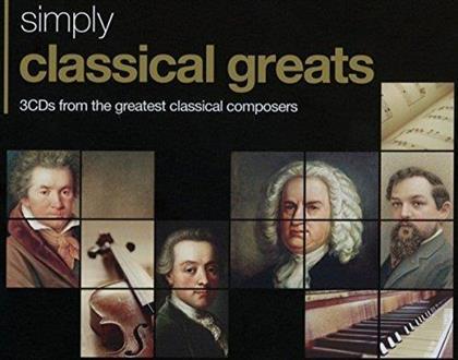 Div Klassik - Classical Greats (3 CDs)