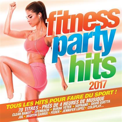 Fitness Party Hits 2017 (3 CDs)