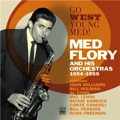 Med Flory And His Orchestra - Go West Young Flory! 1954-1959