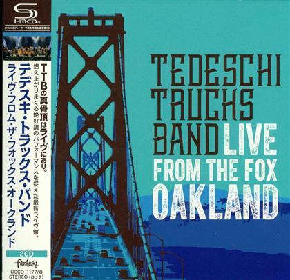 Tedeschi Trucks Band - Live From The Fox Oakland (Japan Edition, 2 CDs)