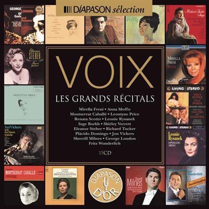 Divers & Various - Voix : Les Grands Récitals (15 CDs)