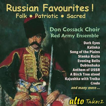 Don Cossack Choir & Red Army Ensemble - Russian Favourites !