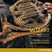 Les Violons du Roy & Wolfgang Amadeus Mozart (1756-1791) - Concertos For Horn / Concerto for Basson / Hornkonzert / Fagottkonzert