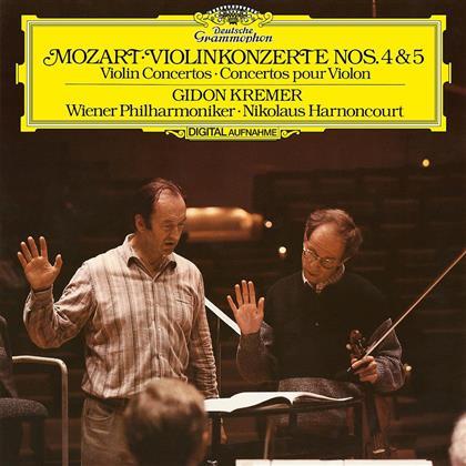 Wolfgang Amadeus Mozart (1756-1791), Nikolaus Harnoncourt & Gidon Kremer - Violin Concertos No.4 & 5 (LP)