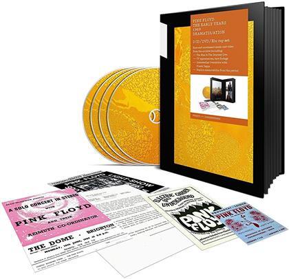Pink Floyd - 1969 Dramatis/ation (2 CDs + DVD + Blu-ray)