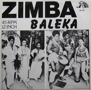 """Zimba - Baleka (12"""" Maxi)"""