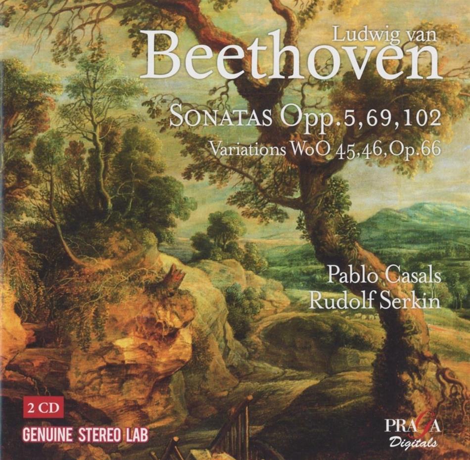 Rudolf Serk & Pablo Casals (1876 - 1973) - Complete Works For Cello (2 CDs)