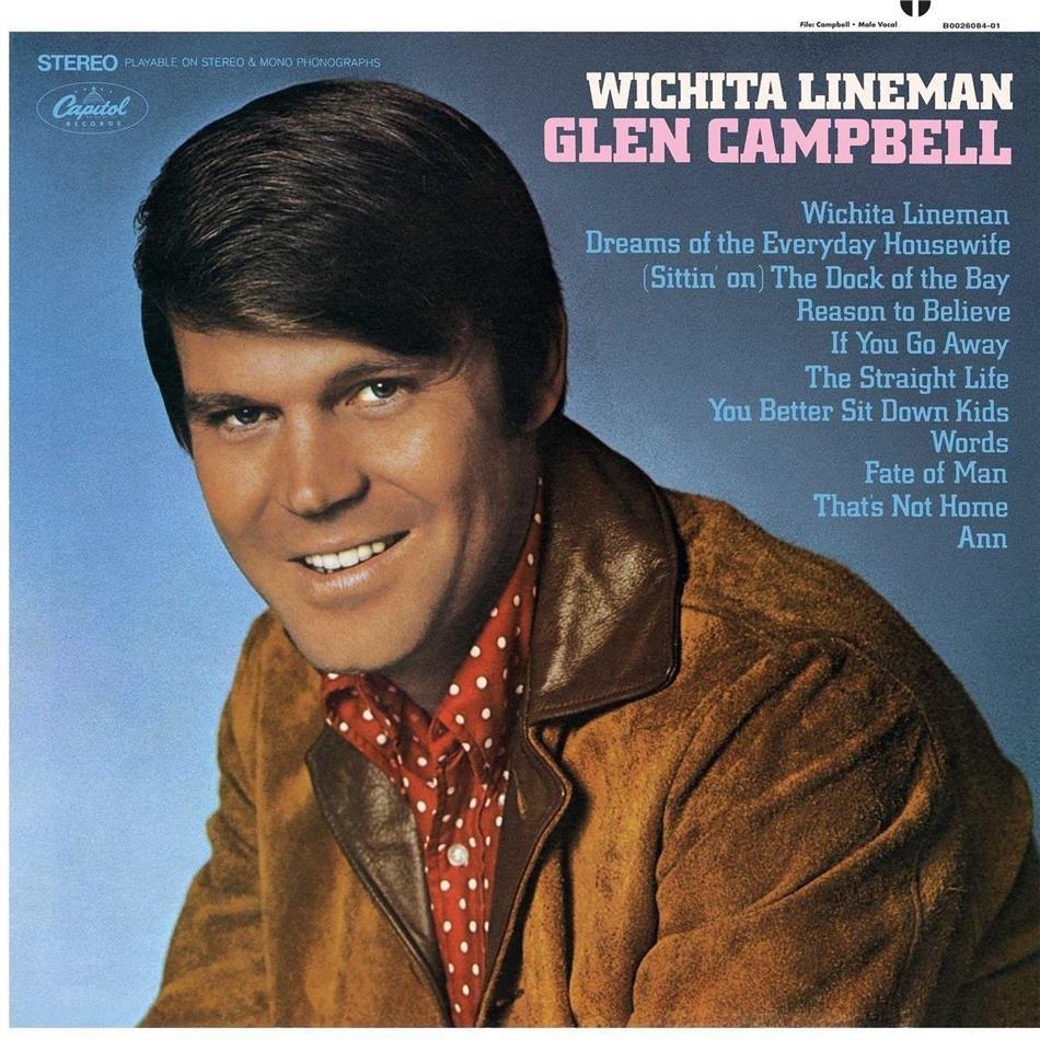 Glen Campbell - Wichita Lineman - 2017 Reissue (LP + Digital Copy)