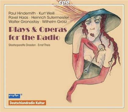 Pavel Haas (1899-1944) & Kurt Weill (1900-1950) - Plays Opera For The Radio (2 CDs)