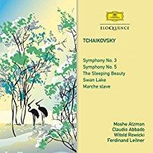 Peter Iljitsch Tschaikowsky (1840-1893), Claudio Abbado & Moshe Atzmon - Symphonien Nr.3 & 5 (2 CDs)