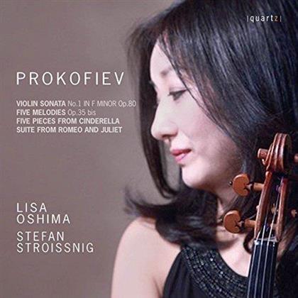 Lisa Oshima, Serge Prokofieff (1891-1953) & Stefan Stroissnig - Violin Works