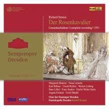Richard Strauss (1864-1949), Margarete Bäumer, Kurt Böhme, Rudolf Kempe, Orchester der Staatsoperette Dresden, … - Der Rosenkavalier - Aufnahme 1951 (4 CDs)