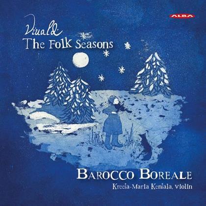 Maria Kentala, Virkkala, Boreale & Antonio Vivaldi (1678-1741) - Folk Seasons