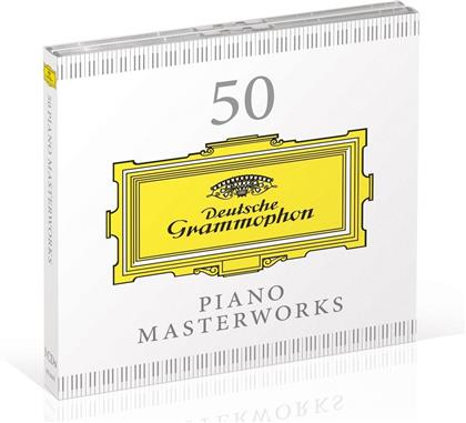 Divers - 50 Piano Masterworks (3 CDs)