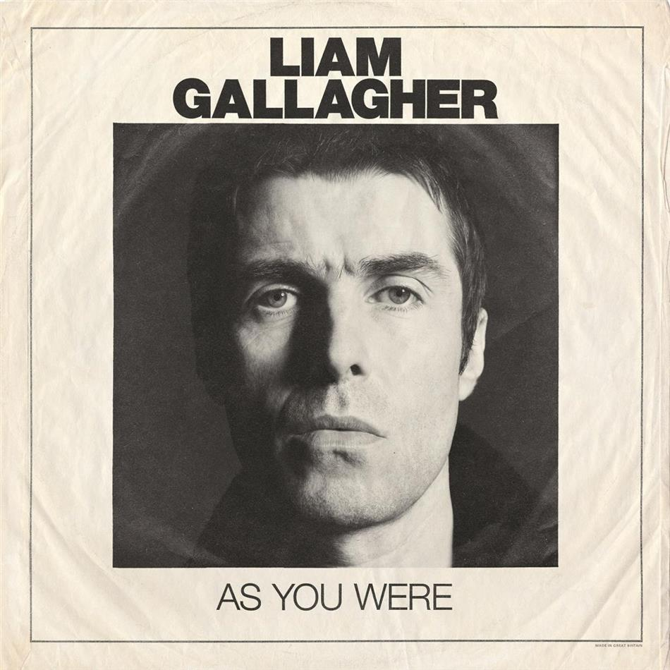 Liam Gallagher (Oasis/Beady Eye) - As You Were - Deluxe Edition/15 Tracks