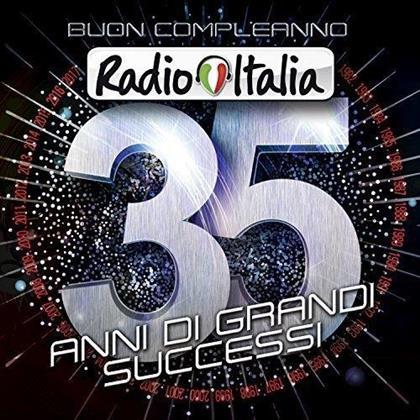 Buon Compleano Radio Italia - 35 Anni Di Grandi Successi (4 CDs)