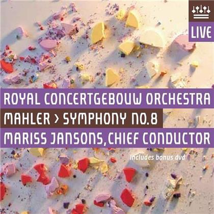 Gustav Mahler (1860-1911), Mariss Jansons & Royal Concertgebouw Orchestra - Symphony No.8 (Hybrid SACD + DVD)