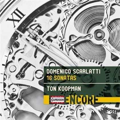 Ton Koopman & Domenico Scarlatti (1685-1757) - 16 Sonatas