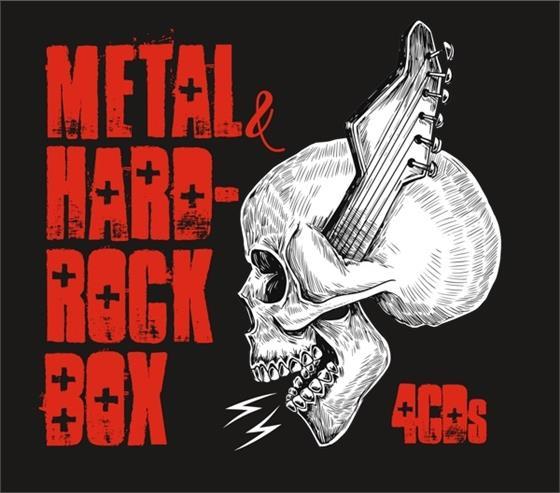 Metal & Hard-Rock Box - Various - 2017 Reissue (4 CDs)