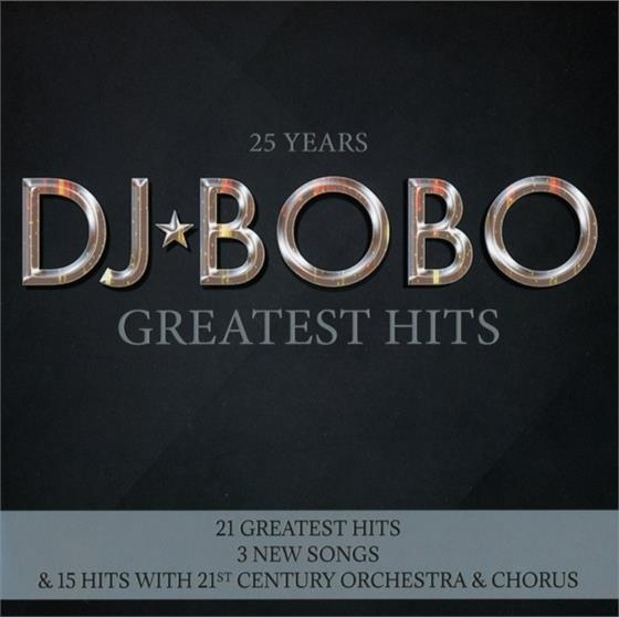 DJ Bobo - 25 Years - Greatest Hits (2 CDs)
