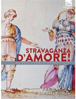 Pygmalion & Pichon - Stravaganza D'amore - The Birth Of Opera At The Medici Court (2 CDs)